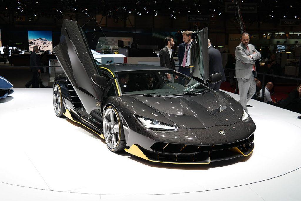 Lamborghini Debuts Centenario